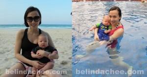 Us at Club Med Bintan. Enjoying the sun, sea and sand!