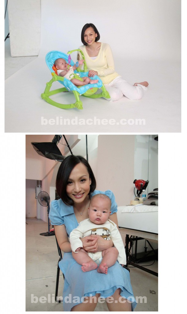 Behind the scenes at our first Fisher Price shoot!