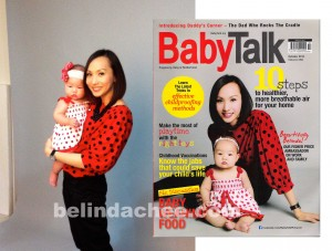 Babytalk Cover Shoot