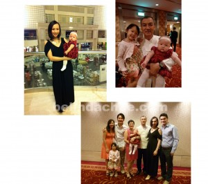 Family time in Singapore!