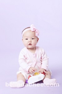 8 Month Old Danielle at another photoshoot!