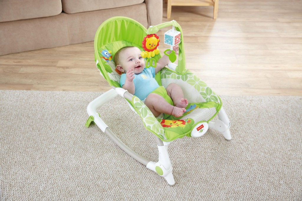 FP - Rainforest Friends Newborn-to-Toddler Rocker